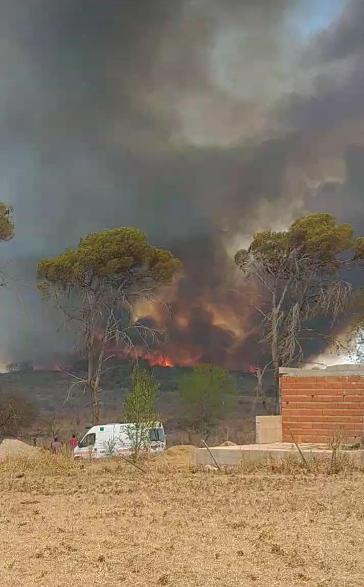 incendio amancay 3 - bomberos embalse
