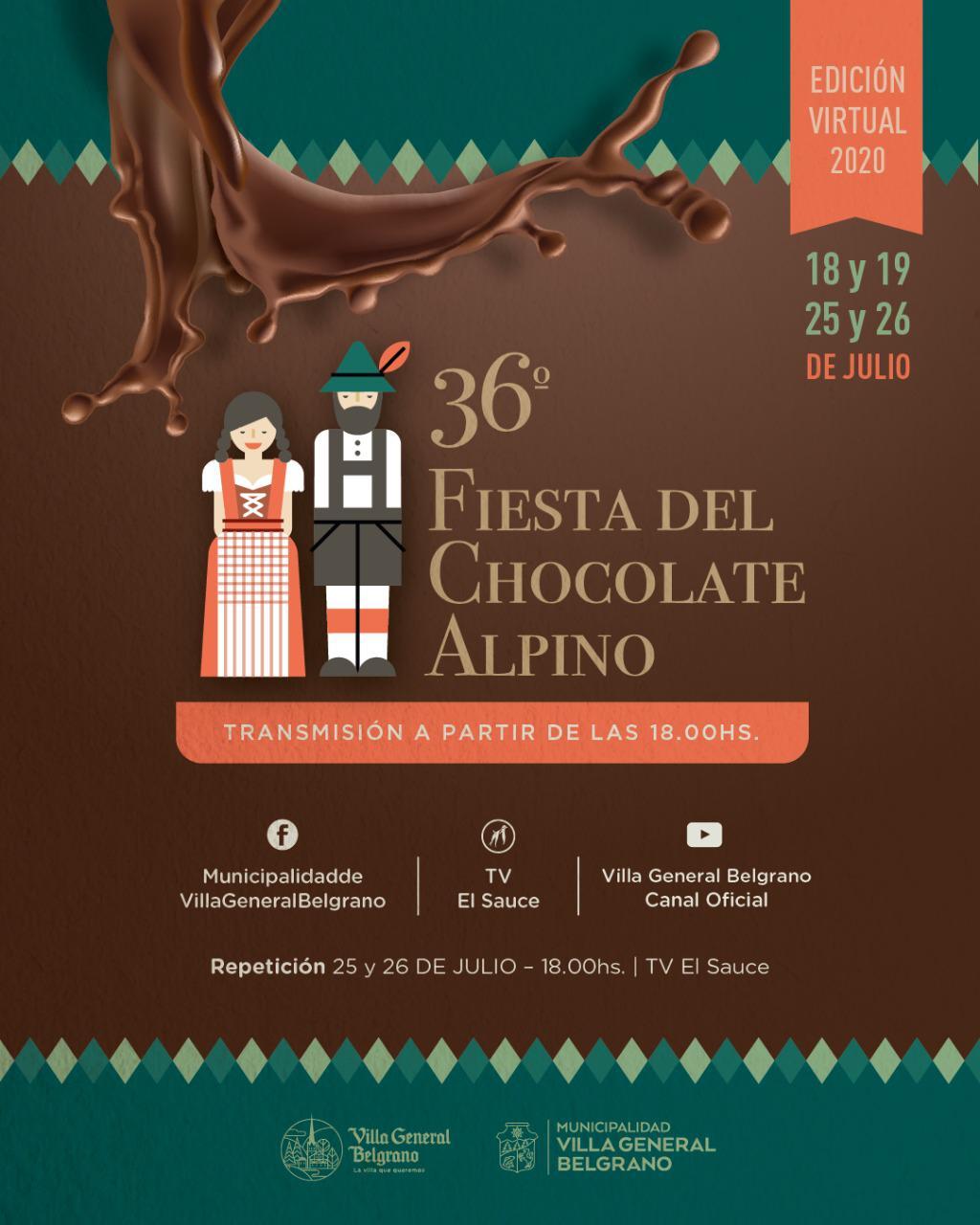 fiesta del chocolate alpino en casa