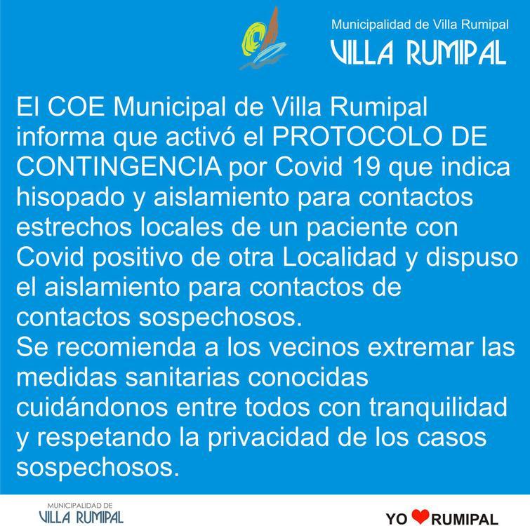 protocolo covid rumipal