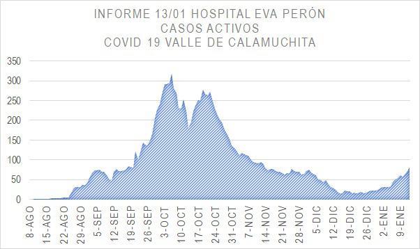 Grafico Evolución COVID CALAMUCHITA al 14-01-21 03