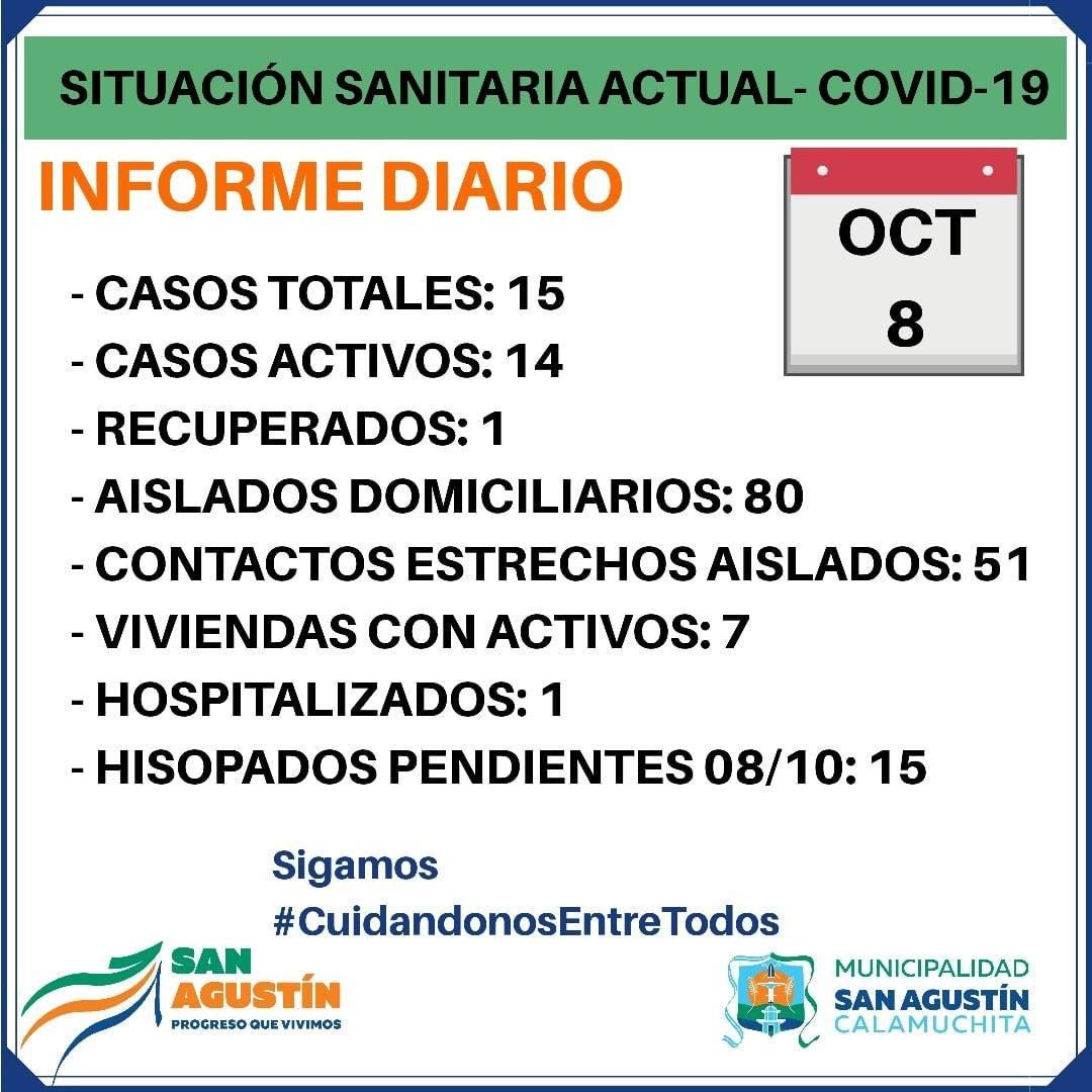 covid san agustin 8-10-20
