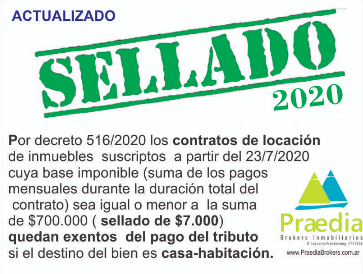sellado 2020