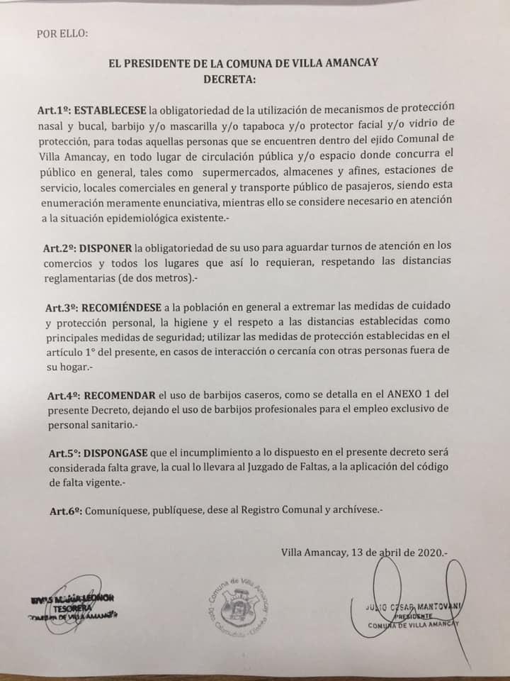 decreto-barbijos-obligatorios-amancay